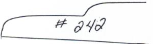 "11/16"" x 4-1/4"" 11/16"" x 5-1/4"""