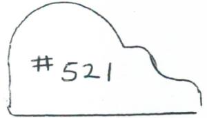"#521 1-1/16"" x 1-7/8"""